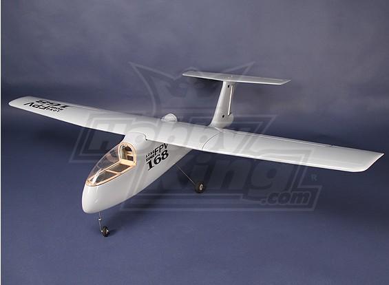 HobbyKing® ™ FPV / UAV Fiber Glass Kit V2 (met flappen) 1660mm (ARF)