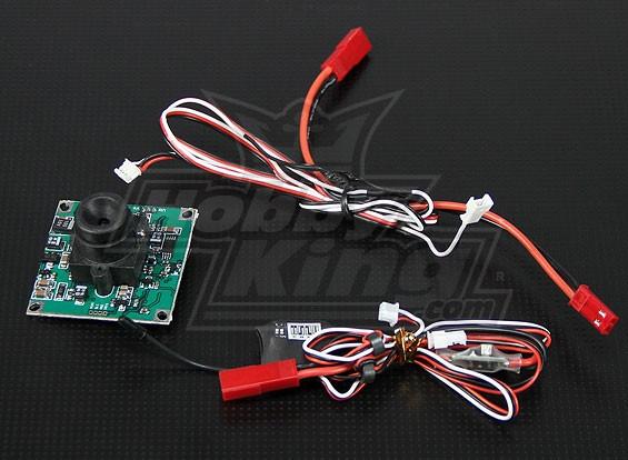 FPV Transmitter & 1/3-inch CCD-camera PAL