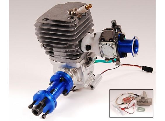 45cc Gas engine w / CD-Ignition 3kw +