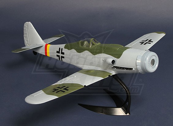 Hobbyking FW190D w / model display staan ​​EPO 650mm (ARF)