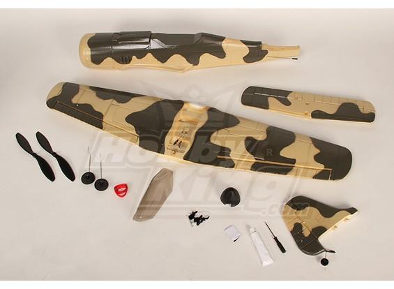 FW-190 Pirate ARF Kit w / o borstelloze motor / ESC / Servo's