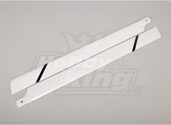700mm Fiber Glass Main Blades