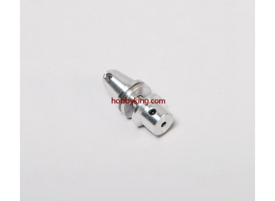 Prop adapter w / Alu Cone M5x2.3mm as (Grub Screw Type)