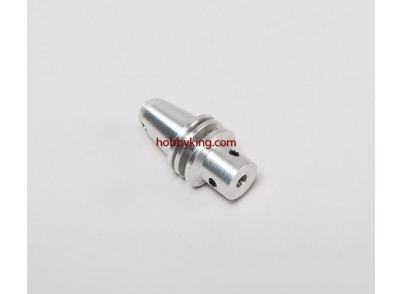 Prop adapter w / Alu Cone M6x4mm as (Grub Screw Type)