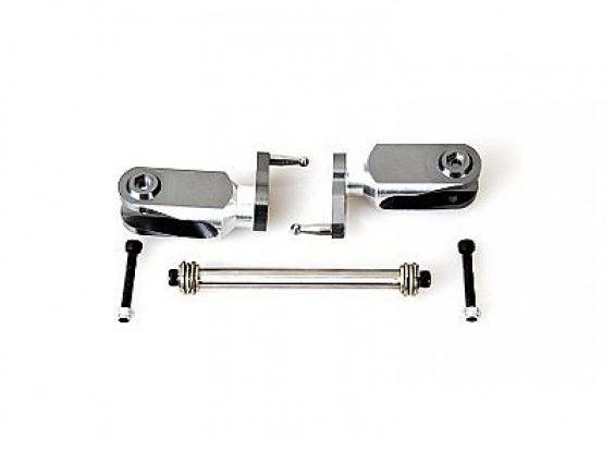 HK600GT metal hoofdrotor grip set w / 8mm bevedering schacht (H60163-00)