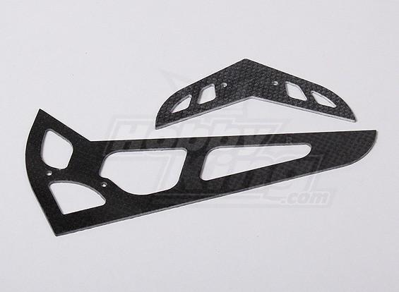 HK600GT CF horizontale / verticale staartvin (HN6058)