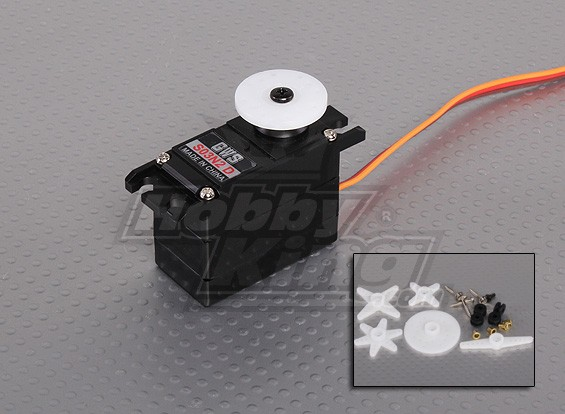GWS S03N2 D HP2BB 30g / 0.10Sec / 6,6 kg Digital Servo