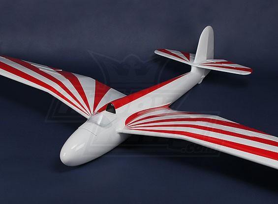 Habicht Glasvezel Glider 2600mm (ARF)