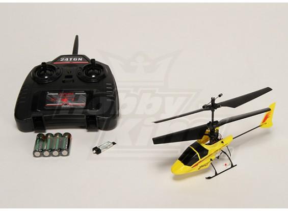 Hawk 2.4Ghz Micro coaxiale Heli w / 2.4Ghz Tx
