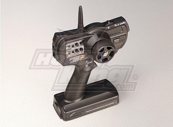 HK-300 3 kanaals 2.4GHz FHSS Ground Radio