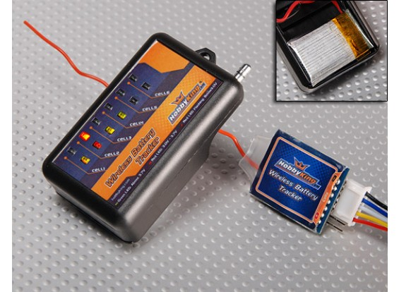Hobbyking Wireless Battery Tracker w / Free Battery 870MHz