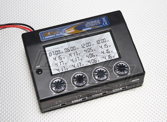 HobbyKing 3S 4 Channel Balance Charger