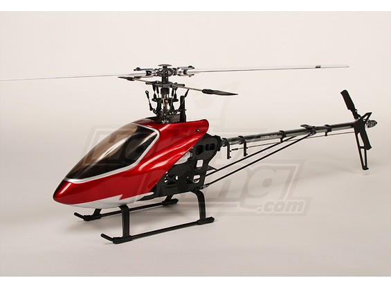 HK-500 GT (TT) 3D-Torque Tube Electric Helicopter Kit (incl. GF bladen en extra's)
