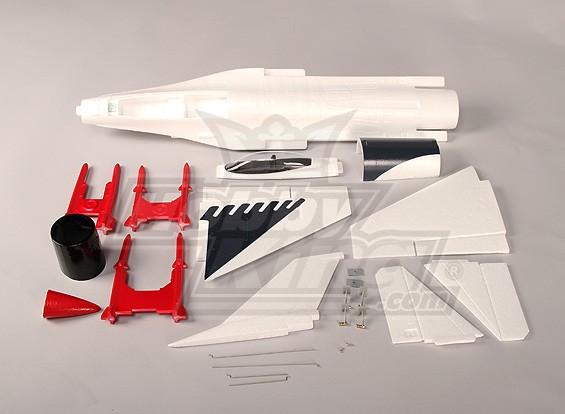 alleen Mini EDF Fighter Jet ARF Kit (EPO)