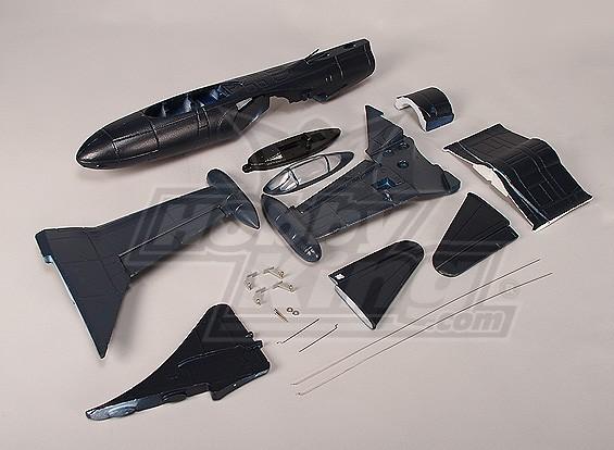 Mini F9F EDF Fighter Jet (EPO) (Kit)