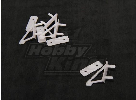 Mini Ultra-light Horns 23x14x6mm (4 stuks / set)