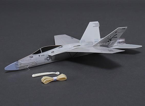 FreeFlight F-18 Hornet w / Catapult Launcher 360mm Span