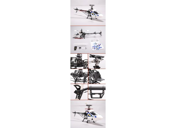 Heli Pro Black Hawk Electric Helicopter Kit