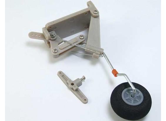 Retractable Staart Landing Gear ingesteld.