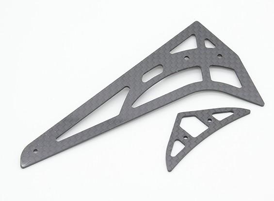 Assault 450 DFC - Carbon fiber horizontale / verticale Stabilizer