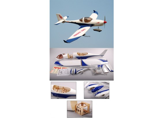 Aquila 0,70 Glasvezel ARF Sport-plane