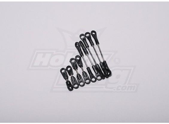 HK-500 GT Linkage Rod (Align deel # H50091 - H50054)