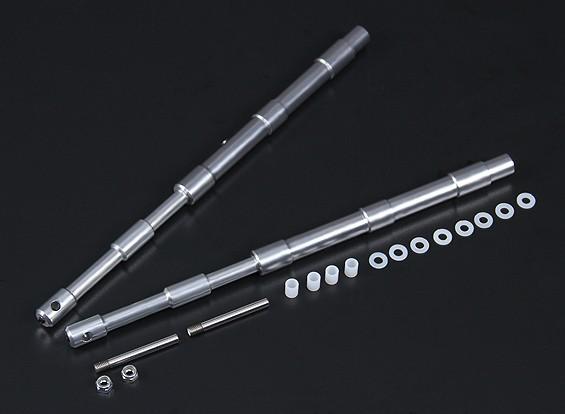 Alloy Oleo Strut 238mm Straight Mains voor 1,20 Klasse 2pc
