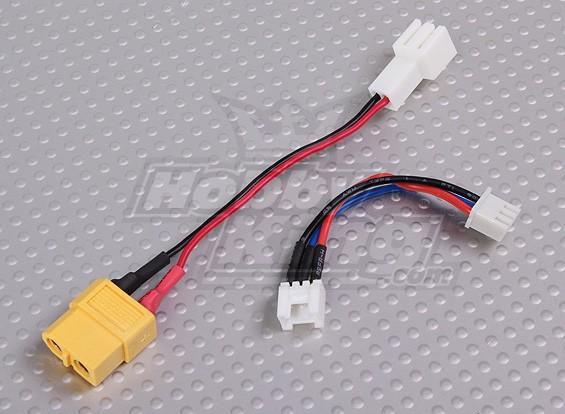 Losi 1 / 18e 2S batterij opladen Adapter Set