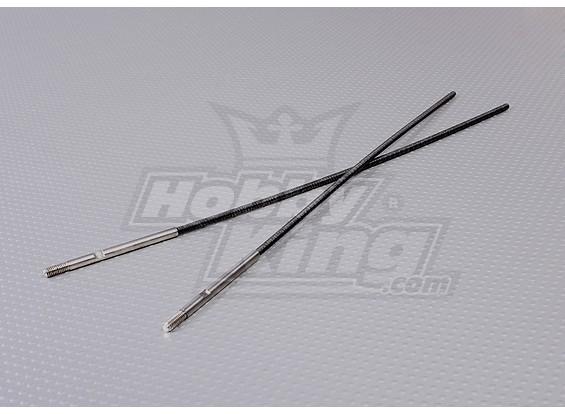 4mm flexibele as - 2pc