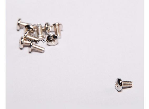 Machine Spinner schroeven M3x6 (10st / set)