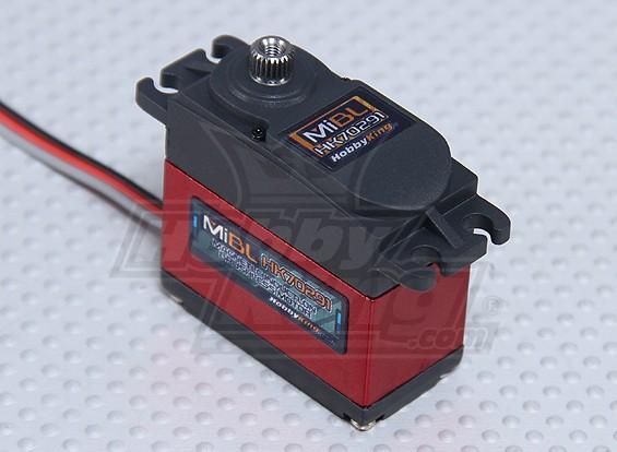 HobbyKing ™ Mi Digital borstelloze magnetische inductie HV / MG Servo 10,8 kg / 0.10sec / 56g