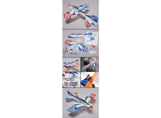 Piaget Micro 3D vliegtuig EPP Kit w / Motor & ESC