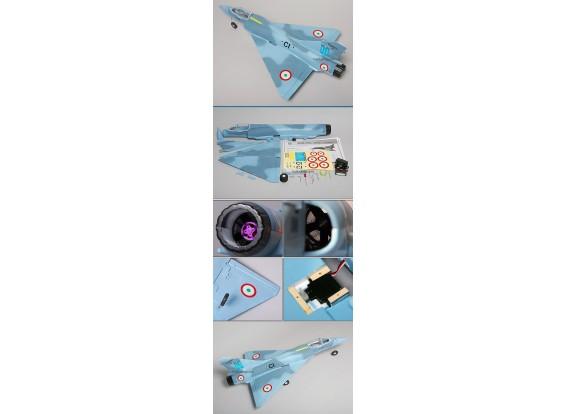 Mirage 2000 95% RTF borstelloze EDF w / motor en ESC