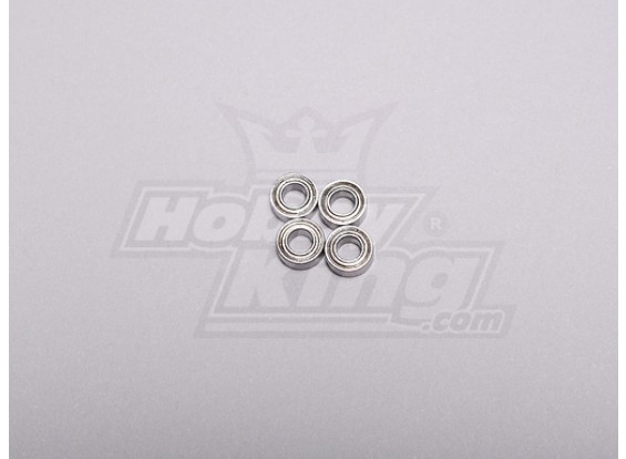 HK-250GT kogellager 6 x 3 x 2,5 mm (4 stuks / set)