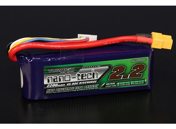 Turnigy nano-tech 2200mAh 4S 45 Pack Lipo ~ 90C