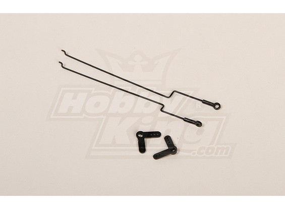 227A Twingo Vervanging Push / Pull Wire Set