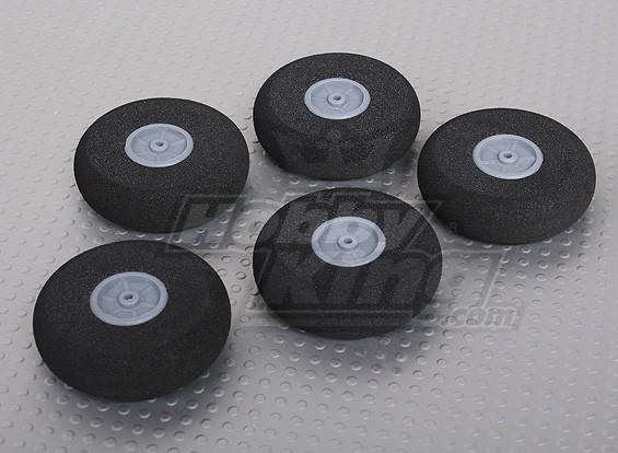 Light Foam Wheel (Diam: 40, breedte: 12mm) (5pcs / bag)