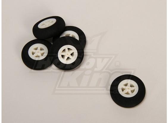 Light Foam Wheel (Diam: 35, breedte: 11mm) (5pcs / bag)