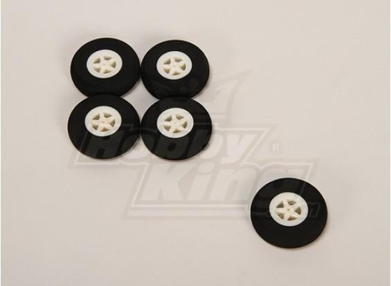 Light Foam Wheel (Diam: 40, breedte: 11mm) (5pcs / bag)