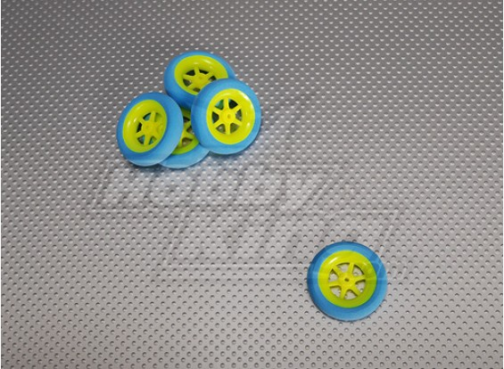 Super Light 5 Spoke Wheel D40x11 (5pcs / bag)