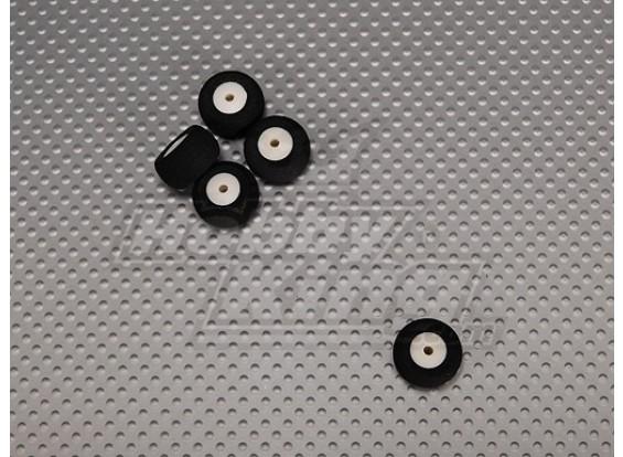 Kleine Wheel Diam: 18mm Breedte: 10mm (5 stuks / zak)