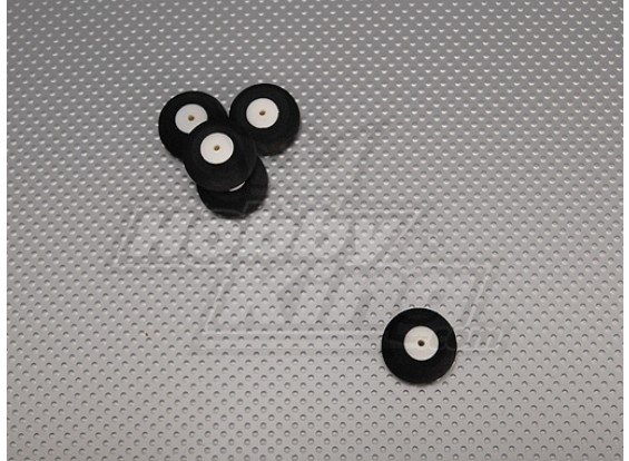 Kleine Wheel Diam: 25mm Breedte: 13mm (5 stuks / zak)