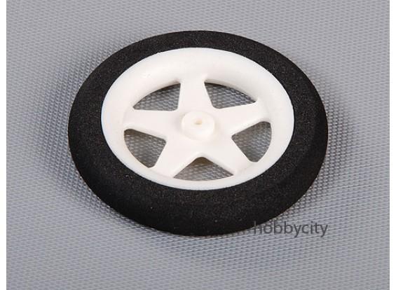 Light Foam Wheel (Diam: 55, breedte: 10mm)