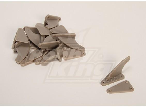 Controle Horns (X-LARGE) 60x30mm (10st / bag)