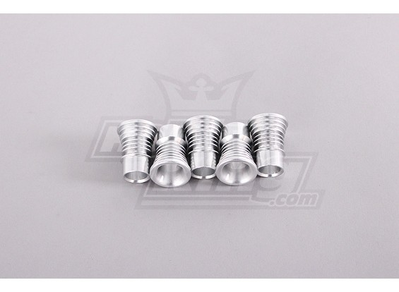 Bell-Mouthed Intake - Ribbed (5pcs / bag)