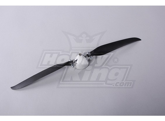 Folding Propeller W / Alloy Hub 45mm / 4mm Shaft 13.5x7 (1 st)