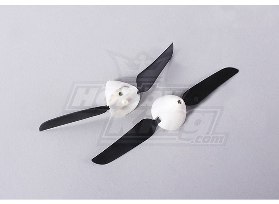 Folding Propeller W / Hub 18mm / 2mm Shaft 5.1x3.1 (2 stuks)