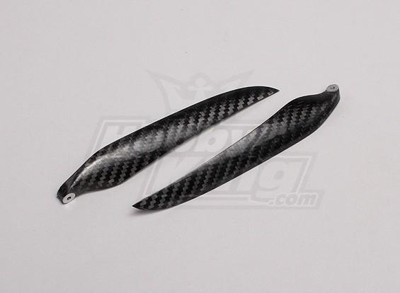 Folding Carbon Fiber Propeller 14x9 Black (CCW) (1 st)