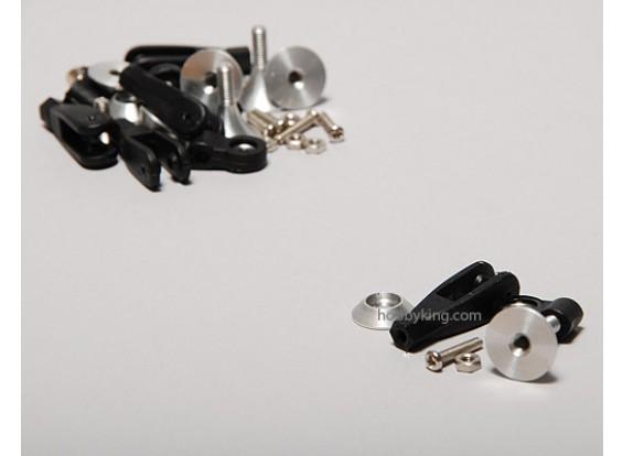 Extra sterke controle Horns w / Lager 15mm (5 stuks)