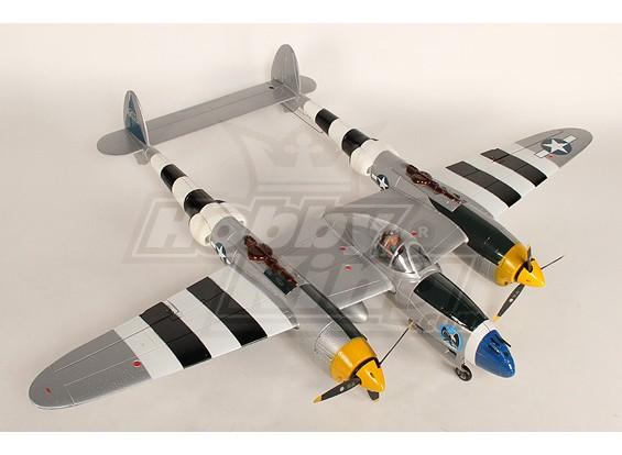 1.4m EPO Warbird w / Zet vrij Plug - & - Fly